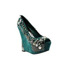 Wild Pair Womens Gia Wp Platform Pump: Shoes