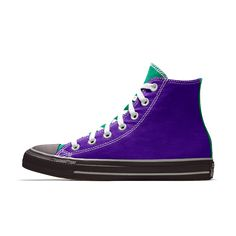 Converse Custom Chuck Taylor All Star High Top Shoe Custom Converse, Custom Shoes, Custom Chuck Taylors, Nike Co, Converse Chuck Taylor All Star, Top Shoes, High Top Sneakers, Clothes, Fashion