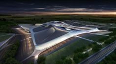 Chartres Expo center - By Zaha Hadid - the target of a lot of criticism - JS.