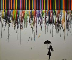 Rainbow Rain   Teen Art/Photo   Teen Ink