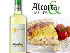 ¿Una #Quiche Lorraine para cenar acompañada de una copa de nuestro #vino blanco #Alcorta & Friends? Una combinación perfecta, delicada, y muy aromática que hará las delicias de todos en casa. ¡Atreveros a disfrutar de una noche mágica con #Alcorta!