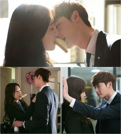 "Park Shin Hye's and Lee Jong Suk's Lips Are Just a Slice of Toast Apart in New ""Pinocchio"" Stills 