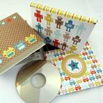 Father's Day CD Gift Box #FathersDay #Party #Ideas #DIY #Printable #cards #invitations #crafts for #kids