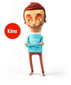 KimoCono   Characters on Behance