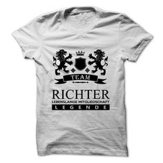 (Greatest T-Shirts)  Team Richter (Limitierte Ausgabe) - Order Now...