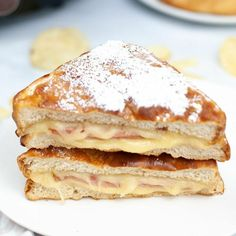 This Monte Cristo sandwich recipe cooked in the air fryer is the perfect way to cook this delectable sandwich. Crispy bread, piled high with ham, turkey, and cheese. It is a true phenomenon. The Monte Cristo sandwich recipe below is a great take on the classic sandwich. This hack makes it so much quicker and easier in the air fryer. Once you try it you will be hooked. All found perfect on their own but combined like this they are next level.
