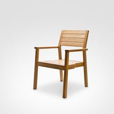 Cadeira Empilhável de Teca