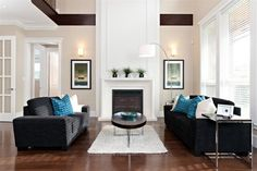 St. Albans - contemporary - family room - vancouver - Positive Space Staging and Design Inc.
