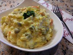 Vianočný zemiakový šalát s majonézou, tradičný RECEPT