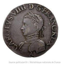 Monnaie. Teston, Paris, Charles IX, droit