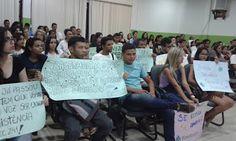 NONATO NOTÍCIAS: EDUCAÇÃO: UNIVERSITÁRIOS LOTAM A CÂMARA DOS VEREAD...