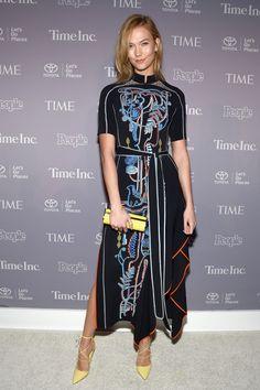 Karlie Kloss in Peter Pilotto #Karlie_Kloss #Woman #Beauty