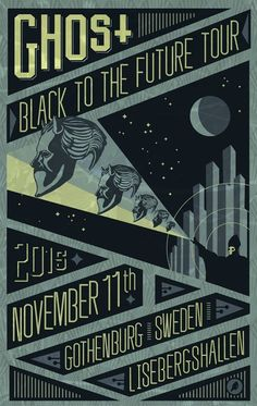 Ghost - Black to the Future Tour 2015