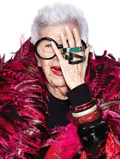 <p>WiseWear's fashion-forward wearable-technology bangles caught the attention of fashion icon Iris Apfel, who loved the idea so much, she agreed to be the face of the brand and design several new pieces for future collections.</p>