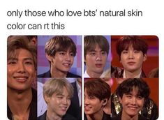 What kind of assholes care about someone else's skin color? I love them in their natural skin color. Not whitewashed! What kind of assholes care about someone else's skin color? I love them in their natural skin color. Not whitewashed! Park Ji Min, Piel Natural, Natural Skin, Taehyung, Namjoon, Jung Kook, Jimin, Drama, Fandom