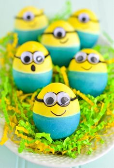 Minions Easter Eggs