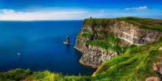 50 Places to Visit in Europe. Photo: Cliffs of Moher Ireland European Road Trip, European Travel, Places In Europe, Places To See, Visit Cuba, Cliffs Of Moher, Cuba Travel, Travel Europe, Backpacking Europe