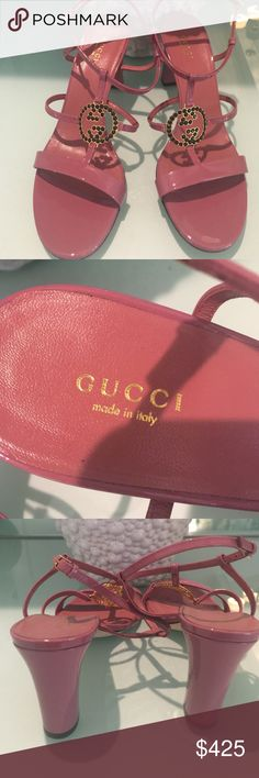 Beautiful Gucci Sandels Worn once to a weeding for a few hours Gucci Shoes Sandals