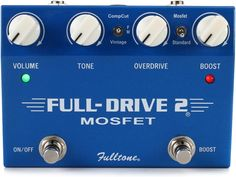 MOSFET Drive Pedal with Overdrive and Boost Channels