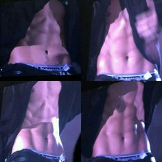 Now... chanyeol officially turned me into a perv fangirl. The day i saw those abs.. i died. Oh my virgin eyes..