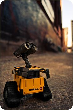 Wall-E. My absolute favorite Pixar film. Hands down.