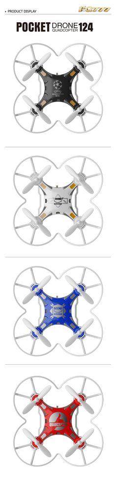 Fq777-124 4 canales drone bolsillo 6axis Quadcopter giroscopio con rtf controlador conmutable Venta - Banggood.com