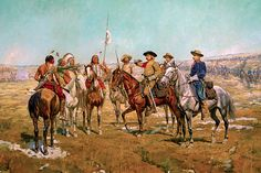 Charles Schreyvogel Custer's Demands - The Largest Art reproductions Center In Our website. Low Wholesale Prices Great Pricing Quality Hand paintings for saleCharles Schreyvogel Native American Models, Native American Indians, American Artists, Plains Indians, George Custer, George Armstrong, Cowboys And Indians, Le Far West, Military Art