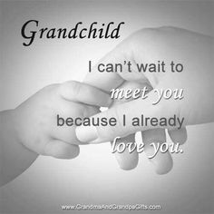 I can't wait to meet my second grandchild! ❤️