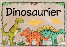 """Ideenreise: Themenplakat """"Dinosaurier"""""""