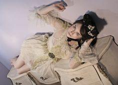 Porcelain Figurine Net Dress Boudoir Queen by BoudoirQueen on Etsy, $675.00