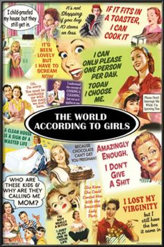 The World According to Girls Prints at AllPosters.com