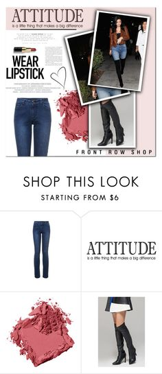"""""""Attitude"""" by yoa316 ❤ liked on Polyvore featuring Bobbi Brown Cosmetics, Front Row Shop and Love Always"""