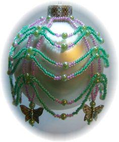 Mariposa Ornament Cover Pattern by michelleskobel on Etsy