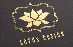 I love lotuses!   Lotus Logo by Taproot Creative