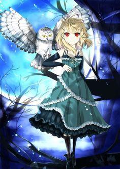 Tina Sprout (Model Owl) from Black Bullet Black Bullet, Chica Anime Manga, Anime Art, Gunslinger Girl, Fantasy Anime, Fanart, Hokusai, Another Anime, Cursed Child