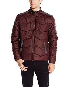 Calvin Klein Jeans Men's Qulited Stand Collar Bomber Jacket