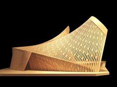 Daegu Gosan Public Library architectural competition by Patkau Architects Architecture Paramétrique, Movement Architecture, Architecture Model Making, Architecture Drawings, Contemporary Architecture, Architecture Diagrams, Architecture Portfolio, Sustainable Architecture, Daegu