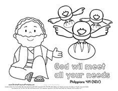 57 Best Elijah Bible Craft for Children's Sunday School