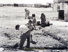 Nezahualcóyotl, Méx. 23 de abril 2013. EL trabajo es y ha sido una fuente inagotable de superación de los habitantes de Neza.  Foto. Héctor García