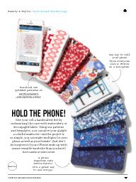 """I saw this in """"Customized Technology"""" in Martha Stewart Living March 2014."""