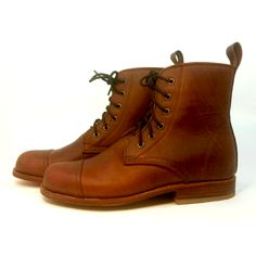 All Leather Peace Boot