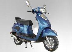 Motorino classico 50cc retro scooter made by Znen