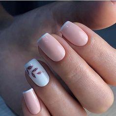 nail polish ideas for winter - nail polish ideas ; nail polish ideas for spring ; nail polish ideas for summer ; nail polish ideas for winter Square Acrylic Nails, Cute Acrylic Nails, Acrylic Nail Designs, Light Pink Nail Designs, Glitter Nails, White Acrylic Nails With Glitter, Natural Nail Designs, Glitter Gif, Classy Nail Designs