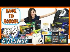 Boys Back to School Supplies Hall + Giveaway 2015 #3| KidToyTesters | KidToyTesters.com