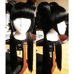 I found this picture of a cosplay wig for Mai from Avatar the Last Airbender. Mai Cosplay, Avatar Cosplay, Cosplay Makeup, Cosplay Outfits, Best Cosplay, Cosplay Wigs, Cosplay Ideas, Avatar Costumes, Cool Costumes