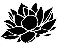 #Stencil #LotusFlower #Eagle SVG PNG PDF DWG DXF download stencils art file da taglio plotter taglio #Fiore #Flower