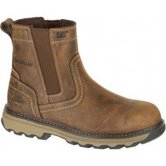 Caterpillar Pelton Pull On Boot #caterpillar #catboots #boots #workboots #catclothing #construction #apparel