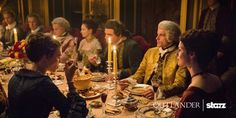 New #Outlander pics from season 2 with Jamie Fraser, Claire Fraser and St. Germain