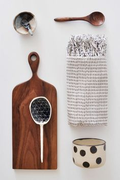 Lovely kitchen stuff arrangement//