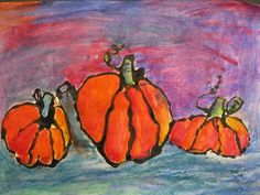 Abbey529's art on Artsonia...black glue and water soluble oil pastels...heard of them? they're great!